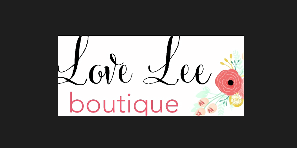 Love Lee Boutique 1 year anniversary