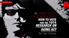 I Want To Live Forever Young - How To Vote For The 1974 Research On Aging Act By Carl Carlyle #009