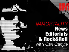 Technohuman Immortality As Daily News by Carl Carlyle #0003