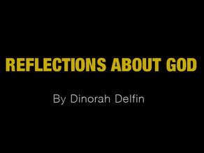 Reflections About God (draft)