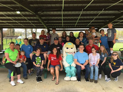 Thank you to New Martinsville Church of God, Bayer Heritage Federal Credit Union, all the volunteers