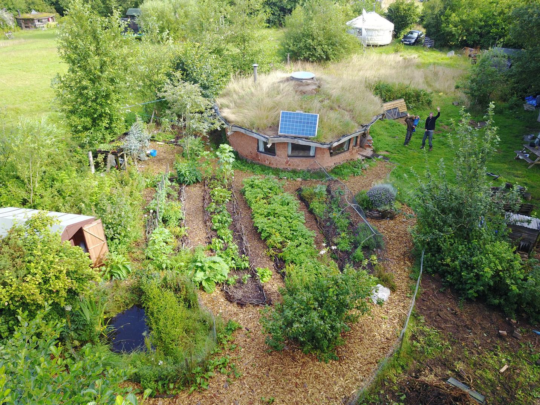 Round House and garden