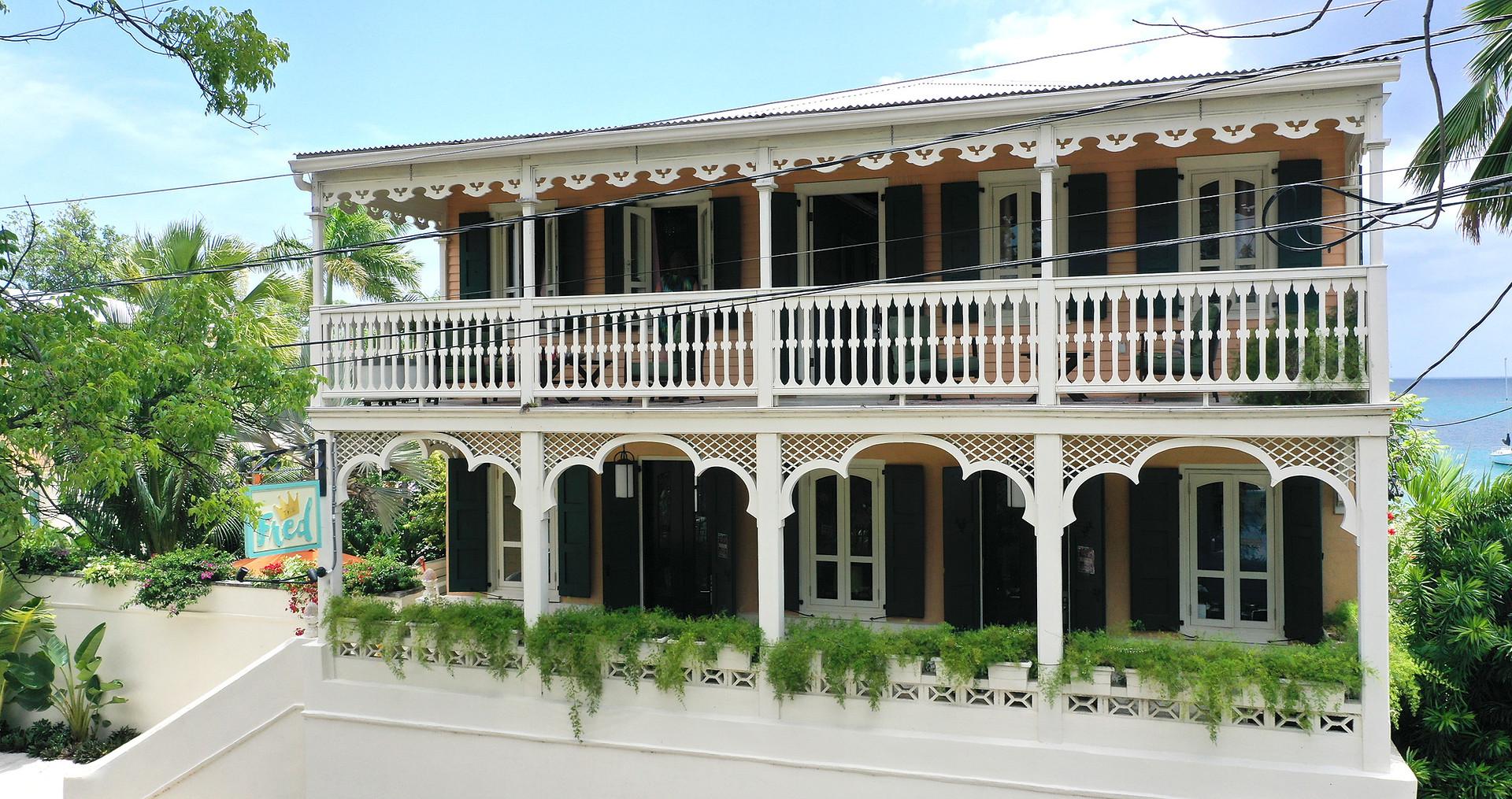 Main Entrance and Historic Landmark