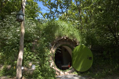 Hobbitwoning op camping Geversduin; mooi voorbeeld van een innovatie met intimiteit