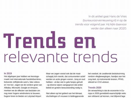 Trends en relevante trends