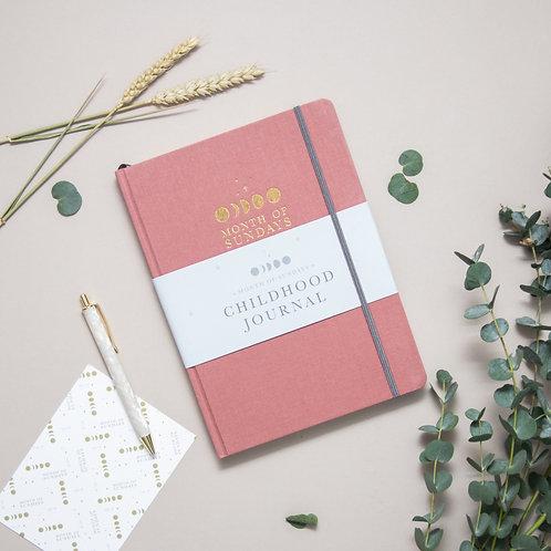 'Blush' Childhood Journal