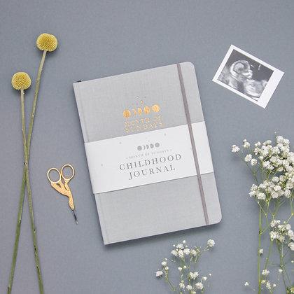 'Cloud' Personalised Childhood Journal