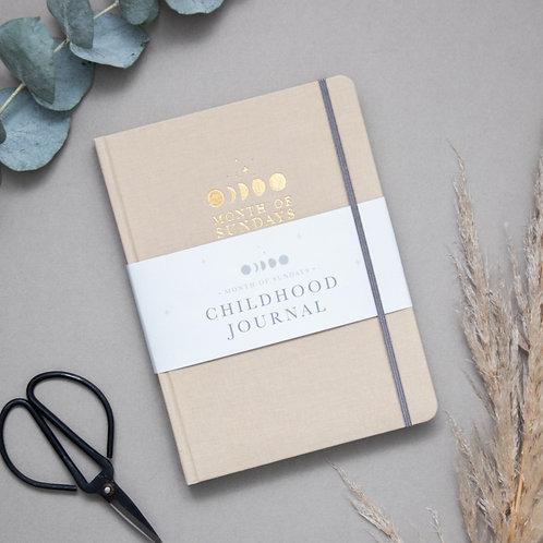 'Sand' Childhood Journal