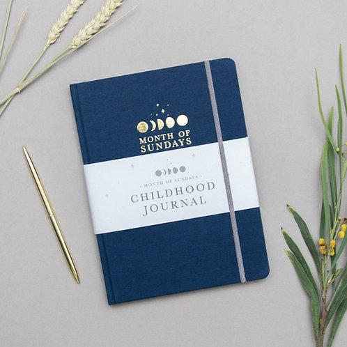 'Midnight' Childhood Journal