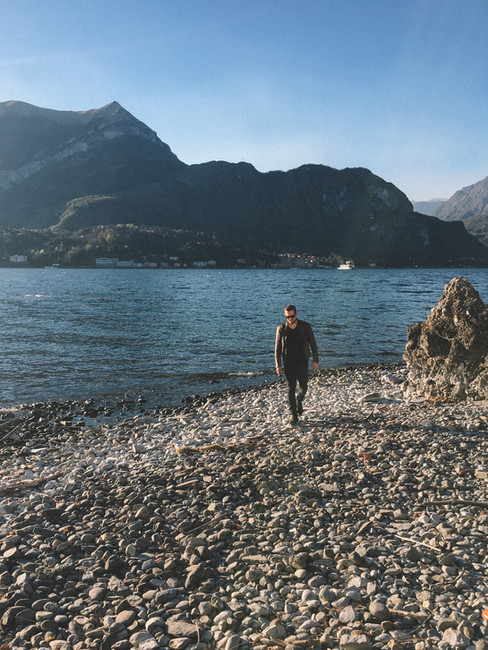 JULIAN WEISS ON VACATION I LAKE COMO I MARCH 2019