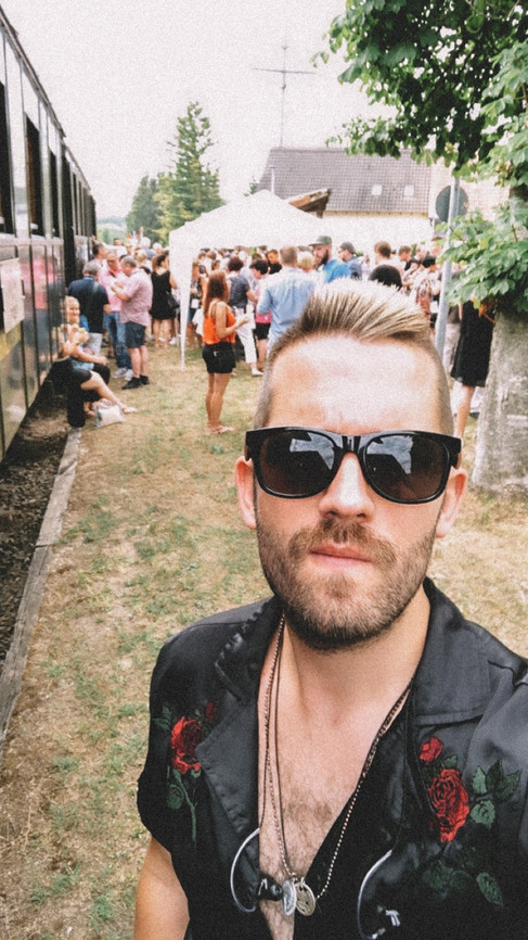 JULIAN WEISS AT THE STEAM TRAIN SHOW I LOKOMOGIN, KANDERTALBAHN I JULY 2019
