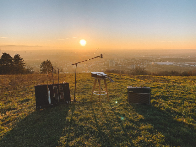 JULIAN WEISS VIDEOSHOOT LOCATION FOR THE ''I GUESS I JUST FEEL LIKE'' STORY AND MUSIC VIDEO I TUELLINGER, LOERRACH I NOVEMBER 2020