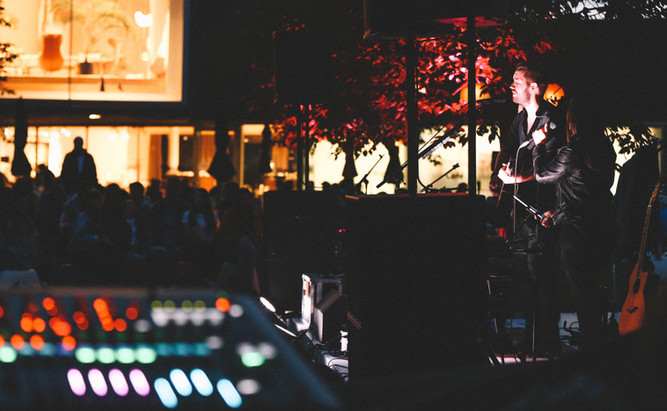 JULIAN WEISS PERFORMING AT THE VITRA CAMPUS SUMMER NIGHTS I VITRA CAMPUS, WEIL AM RHEIN I AUGUST 2019
