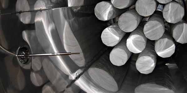 Textile Prozessfilter in Wirbelschichttrockner MFB 80