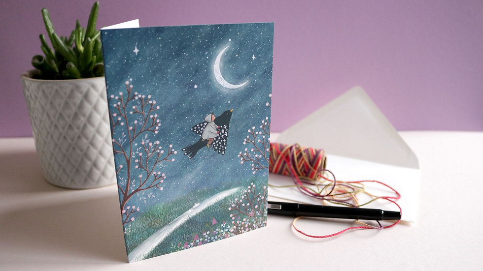 "Greeting card ""Magical Friend"""