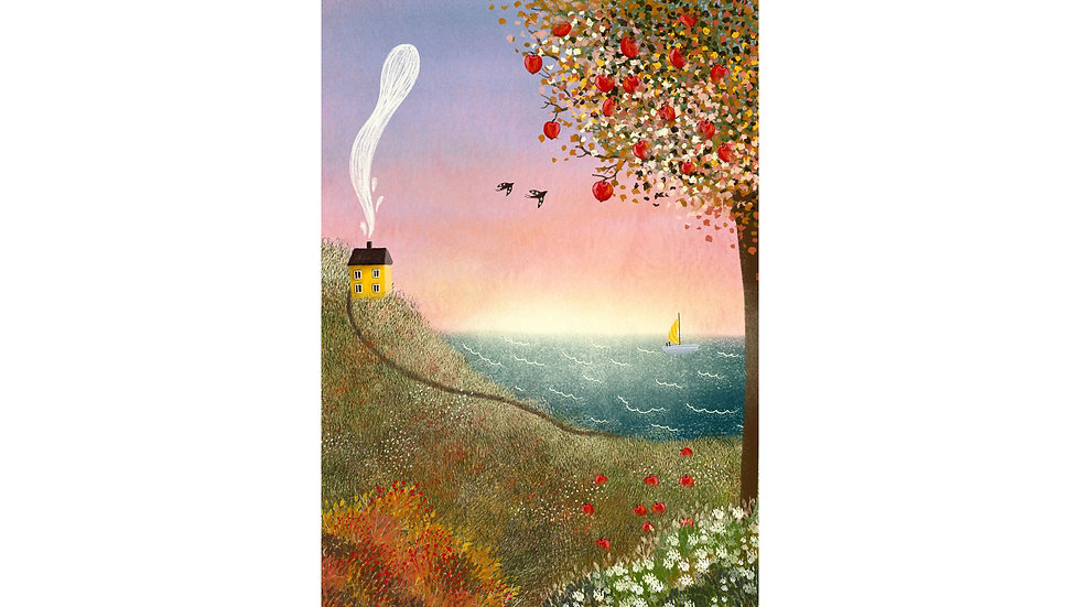 """By the Sea"" Art Print"