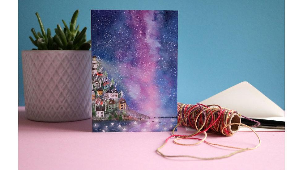 "Greeting Card ""Milky Way"""
