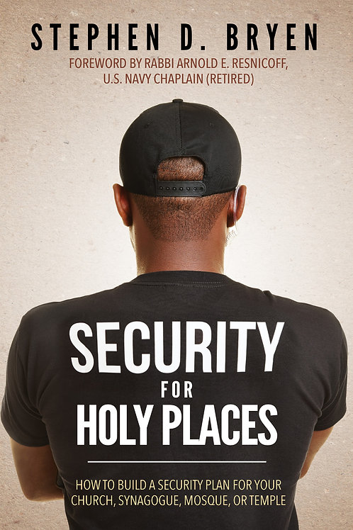 Security for Holy Places Paperback Edition