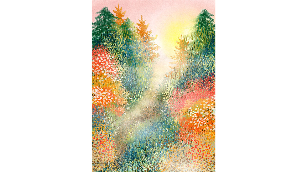 """""""Bright Morning Light"""" Art Print"""