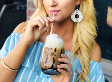 Coffee Creations: Shelled Iced Mocha
