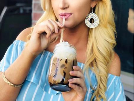 Coffee Creations: Shelled Iced Mocha