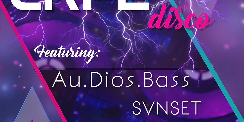 Cafe Disco! feat. Au.Dios.Bass, SVNSET, and hyperreflector