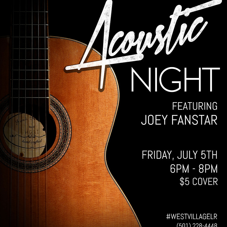 Acoustic Music Night feat. Joey Fanstar