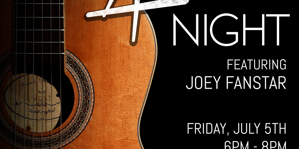 Acoustic Music Night feat. Joey Fanstar