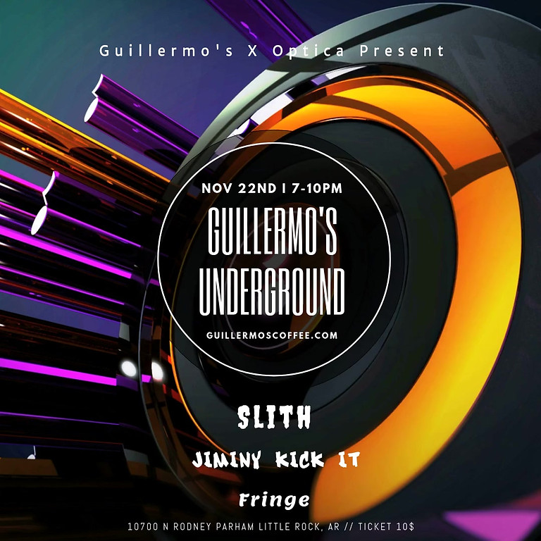 Guillermo's underGROUND feat. Slith, Jiminy Kick It, & Fringe