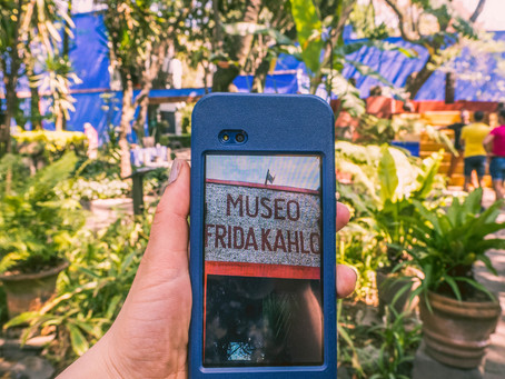 Visiting Frida Kahlo | A Virtual Tour of The Blue House
