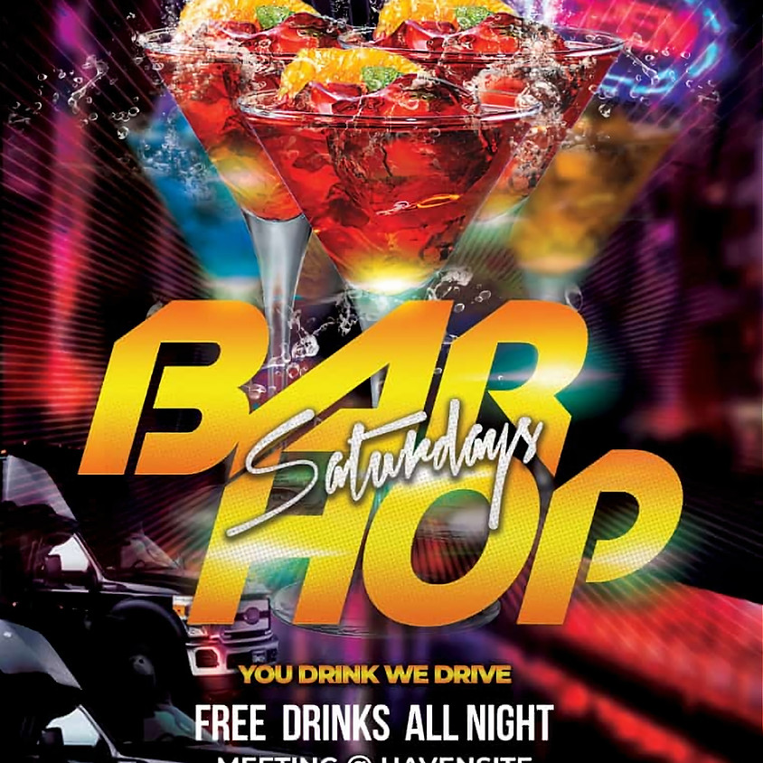 Bar Hop Saturdays!