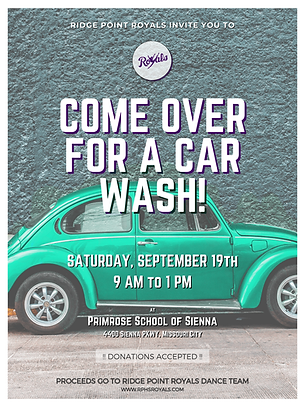 Come over for a Car Wash- Poster Print.p