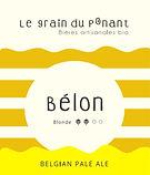 Bière artisanale bio Bélon Brasserie guidel et Riec sur Belon