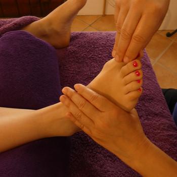 massage des pied Cabinet de Massage Auray