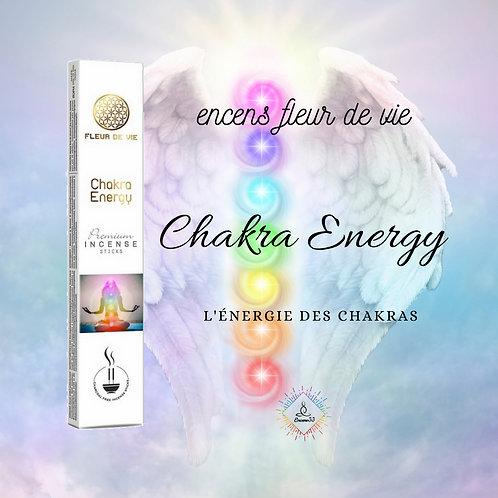 Encens Premium Fleur de Vie Chakra Energy