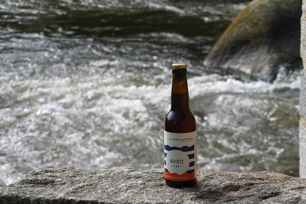 Biere artisanale bio bretonne AVEN.JPG