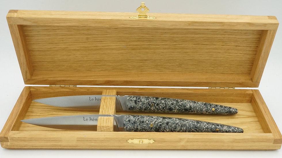 Couteaux de table Kersantite