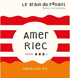 logo bière artisanale bio Le Grain Du Ponantamer riec.JPG