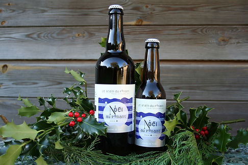 bière brasserie le grain du ponant Noel