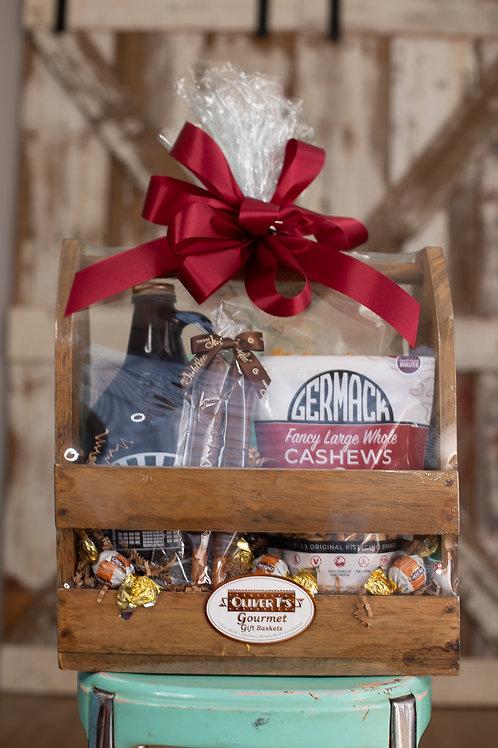 Growler Caddy Gift Set