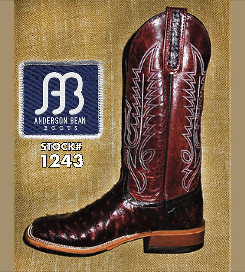 Anderson Bean 12 inch / Stock# 1243