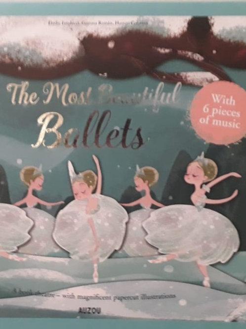 ספר מנגן Most beautiful ballets