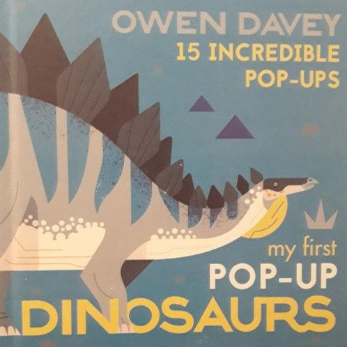 My First Pop-Up Dinosaurs /Owen Davey