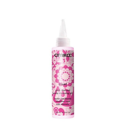 Amika Reset Pink Charcoal Scalp Cleansing Oil 200ml/6.7oz