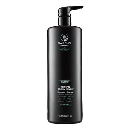Paul Mitchell Awapuhi Wild Ginger Keratin Cream Rinse 33.8 oz