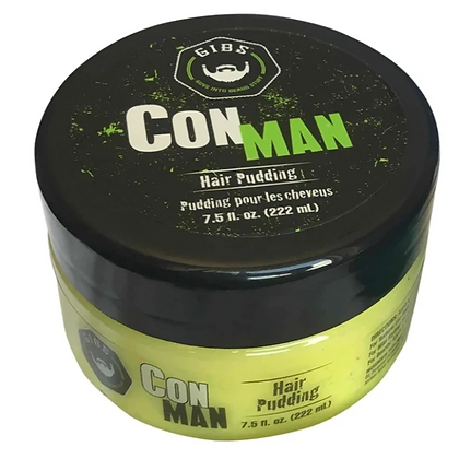 Gibs Grooming Con Man Hair Pudding 7.5 oz