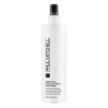 Paul Mitchell Firm Style Freeze and Shine Super Spray 16.9 oz.