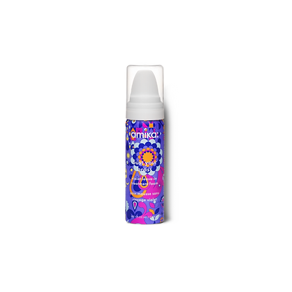 Amika Bust Your Brass Violet Leave-In Treatment Foam 156.7ml/5.3oz