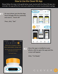 Individual Guide to the Clever RX App.JP