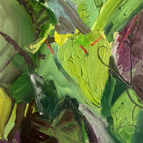 9. Brady_Green and green again_Oil and pastel on Panel.jpeg